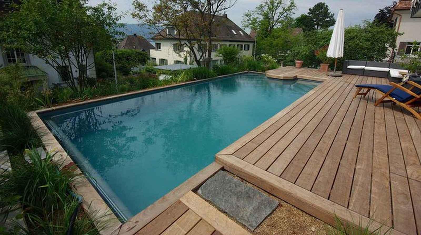 Pool mit stahlrahmen haus dekoration - Pool mit stahlrahmen ...